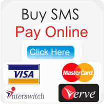 Bulk SMS Nigeria Direct Online Payment Option for our bulk SMS Service. Register with us today to start sending your bulk SMS on our reliable bulk SMS website.